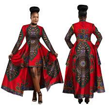 Hitarget <b>2019 African Dresses</b> for <b>Women</b> Dashiki Cotton Wax Print ...