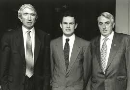 memories of frank o halloran people oughterard heritage l to r pat o connor secretary gerry gibbons treasurer frank o halloran chairman