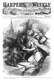 charity organization societies social welfare history this harper s weekly illustration of wall street after the panic of 1873 shows president grant helping