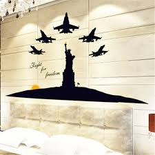liberty bedroom wall mural: wall stickers abq  statue of liberty bedroom a living room decoration noctilucent fluorescence subsidies