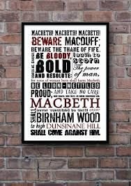 SHAKESPEARE Poster, Macbeth Poster, Shakespeare quote poster ... via Relatably.com