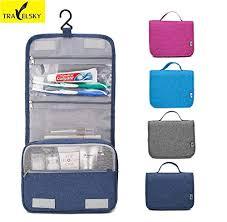 Travelsky Hot New Women <b>Portable Travel Cosmetic Bag</b> Travel ...