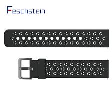 Feschstein Silica Gel Strap for <b>X3C Smart Watch</b>, Skin Friendly and ...