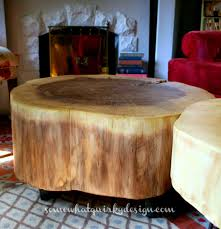 diy tables large tree slices wood diy home decor repurposing upcycling rustic awesome tree trunk table 1