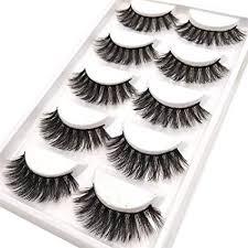 CerroQreen Eyelashes Thick Curly Fashion Lashes <b>5 Pairs</b> 3D <b>Mink</b>