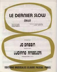 Partition - <b>Joe Dassin</b> - <b>Le</b> dernier slow | Musikk