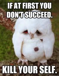 Depressed Owl memes | quickmeme via Relatably.com