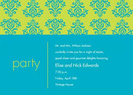 Dinner Party Invitations by Invitation Duck