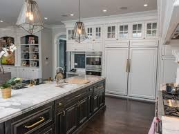 kitchen cabinets home office transitional:  rs vanessa deleon white transitional kitchen island hjpgrendhgtvcom