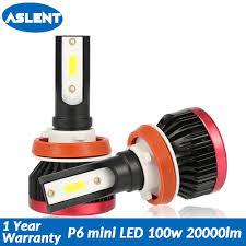 <b>Aslent Mini</b> H4 Hi Lo <b>LED H7</b> H11 H8 H1 H3 9005 9006 HB3 HB4 ...