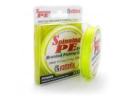 <b>Леска Fanatik Spinning PE</b> X4 ( 0 4) 0 10mm 120m Yellow и так на ...