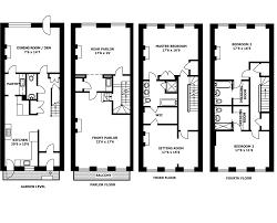 Beautiful Brownstone House Plans   New York Brownstone House Plan    Beautiful Brownstone House Plans   New York Brownstone House Plan