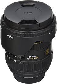 Sigma 24-70mm f/2.8 IF EX DG HSM AF Standard ... - Amazon.com