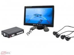 <b>Видеопарктроник</b> с четырьмя ультразвуковыми датчиками <b>AVEL</b> ...