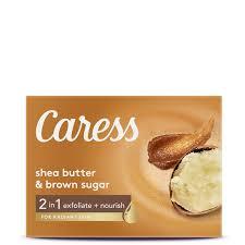 <b>Shea Butter</b> & Brown Sugar <b>Bar Soap</b> | Caress