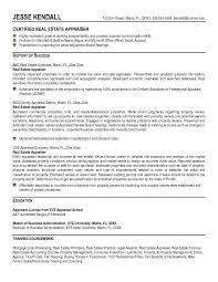 real estate resume sample  real estate agent resume example    real estate appraiser resume example  sample resume