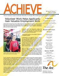 newsletters the arc davidson county and greater nashville achieve 4 1 2 years ago arcdc