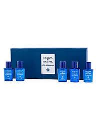 <b>Acqua Di Parma</b> - <b>Blu</b> Mediterraneo 5-Piece Miniature Fragrance ...
