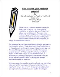 Managing research   how to write your research proposal   The     Abstract  The writing of a research proposal