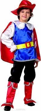 <b>Батик Карнавальный костюм</b> для мальчика <b>Кот</b> в сапогах размер 26