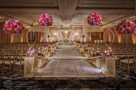 decor design hilton:  traditional indian wedding ceremony mandap and aisle floral decor at the hilton columbus  x