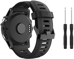 TOPsic Compatible Garmin Fenix 3 Watch <b>Strap</b>, <b>Silicone</b> ...