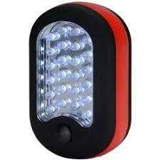 24+3 <b>LED</b> Compact Work <b>Light</b> with <b>Magnet</b> and Hanger Clip