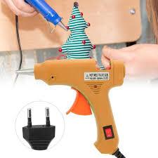 Shop Generic <b>20W</b> Electric Hot Melt Glue Gun DIY Art Crafts <b>Heat</b> ...
