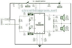 usb powered  stereo pc multimedia speaker circuit electronic    usb powered  stereo computer speaker