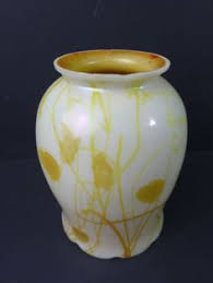 Steuben Green Aurene Intarsia Vase. | Стеклянная <b>ваза</b> в 2019 г ...