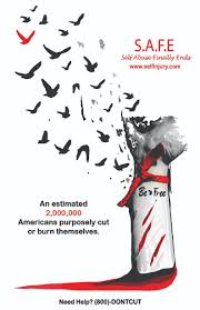 is self injury awareness month terezia farkas there are two million cases mostly youth reported annually in the united states the stigma of self injury needs to be broken