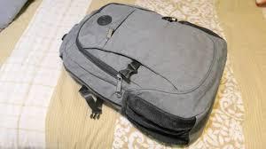 <b>Laptop Backpack</b> with <b>USB Charging</b> - YouTube