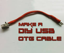 how to make usb otg cable 5 steps pictures