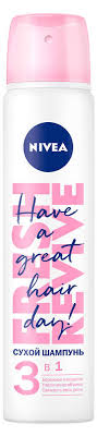 Купить <b>Сухой шампунь</b> Nivea 3в1, 200 мл с доставкой по цене ...