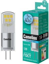 Светодиодная <b>лампа Camelion</b> LED5-<b>G4</b>-JC-NF/845/<b>G4</b> - купить ...