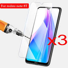 <b>3PCS Protective Glass for</b> Xiaomi 8T Screen Protector Glass ...