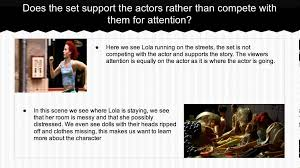 staging and props run lola run film analysis staging and props run lola run film analysis
