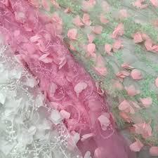 Freeshipping Net yarn 3d <b>flower</b> embroidery <b>chiffon fabric floral</b> print ...