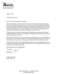 tips for writing a letter of recommendation letter of recommendation sample 2