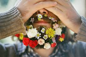 Մի փոքր ամառային տրամադրություն... - մորուք, ծաղիկներ , նորաձև,