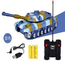 Stone <b>Children</b> Electric <b>Remote</b> Control Tank Toy <b>Wireless Charging</b> ...