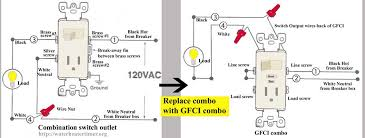 how to wire cooper pilot light switch gfci switch outlet gfci at amazon