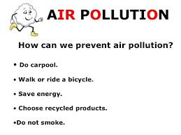six ways to reduce air pollution essay   essay topicsprevention of pollution essay le image