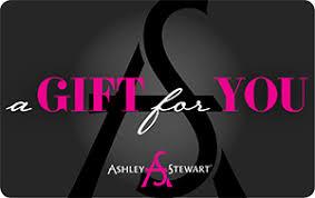 Gift Card Plus Size Clothing & Shoes Ashley Stewart