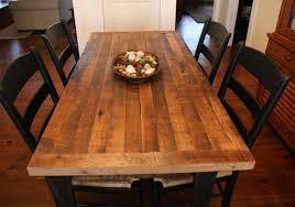 table for kitchen: butcher block tables for kitchen bobreuterstlcom