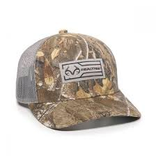 OC Realtree Edge <b>Woven Label</b> Mesh Back Hat – Luckless Outfitters
