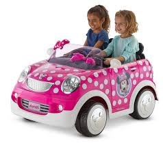 Disney <b>Minnie</b> Mouse <b>Hot</b> Rod Coupe Ride-On Toy by <b>Kid</b> Trax, 12 ...