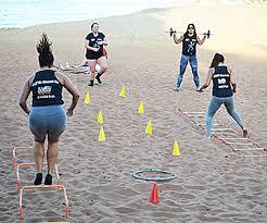 Resultado de imagem para fotos de treinamento funcional na praia
