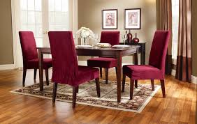 Stretch Dining Room Chair Covers Maude Stretch Dining Chair Slipcover 16479270 Overstockcom Sink