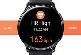 Monitor your <b>heart</b> rate on your Samsung <b>smart watch</b>